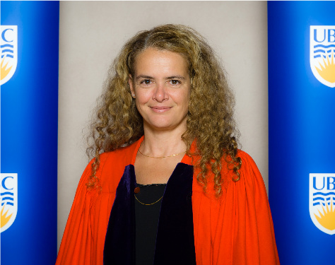 2010 Honorary Degree Recipients (Fall) - Julie Payette (large)