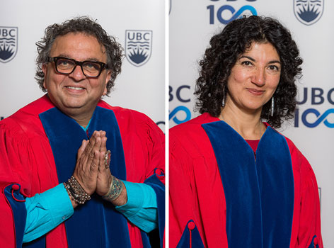Meeru Dhalwala and Vikram Vij