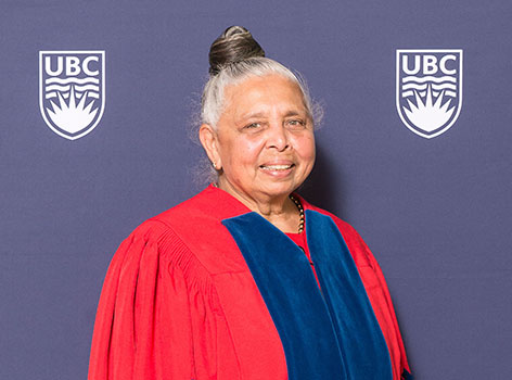 Patsy George, CM, OBC